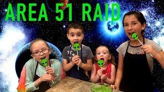 AREA 51 Raid ALIENS EVERYWHERE  DIY Alien Cake Pop Recipe
