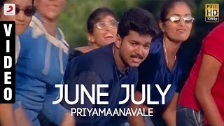 Gambar cover Priyamaanavale - June July Official Video | Vijay, Simran | S.A. Rajkumar