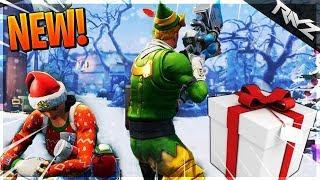 FORTNITE CHRISTMAS EN JUILLET FUITE ... DON À VENIR AUSSI?! (Fortnite Battle Royale Nouvelles)