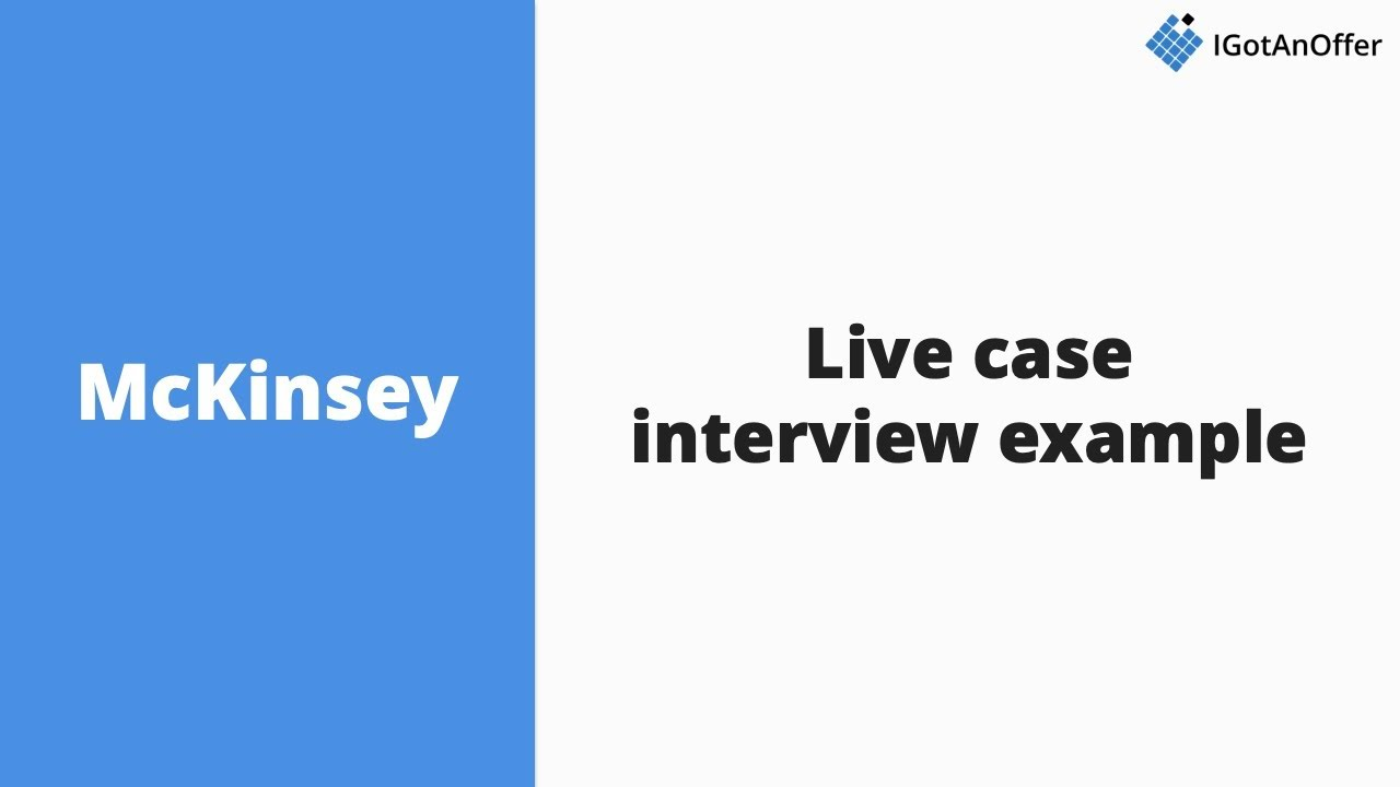 mckinsey case interview practice video mckinsey case interview practice video