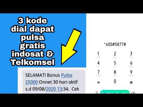 3 Kode Dial Dapat Pulsa Gratis Indosat \u0026 Telkomsel