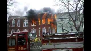 Full SOUND - April 1, 2012 - FIRE - Chelsea Street, East Boston