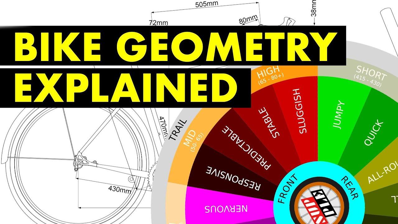 Bike Geometry Explained The Bicycle Flavor Wheel Youtube