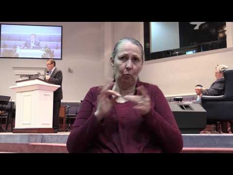"""From One to Many"" by Pastor Jimmy Toney in sign language"