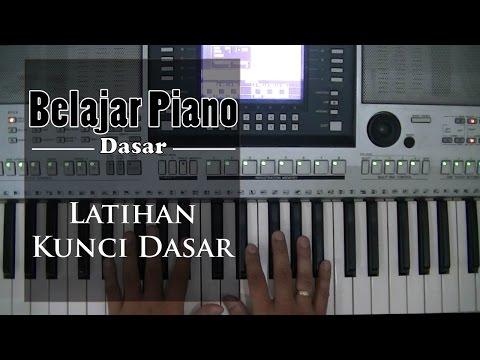 Belajar Piano Dasar - Kunci Dasar pertama