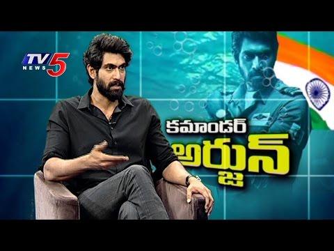 Ghazi Movie | Rana Daggubati Exclusive Interview | Telugu News | TV5 News
