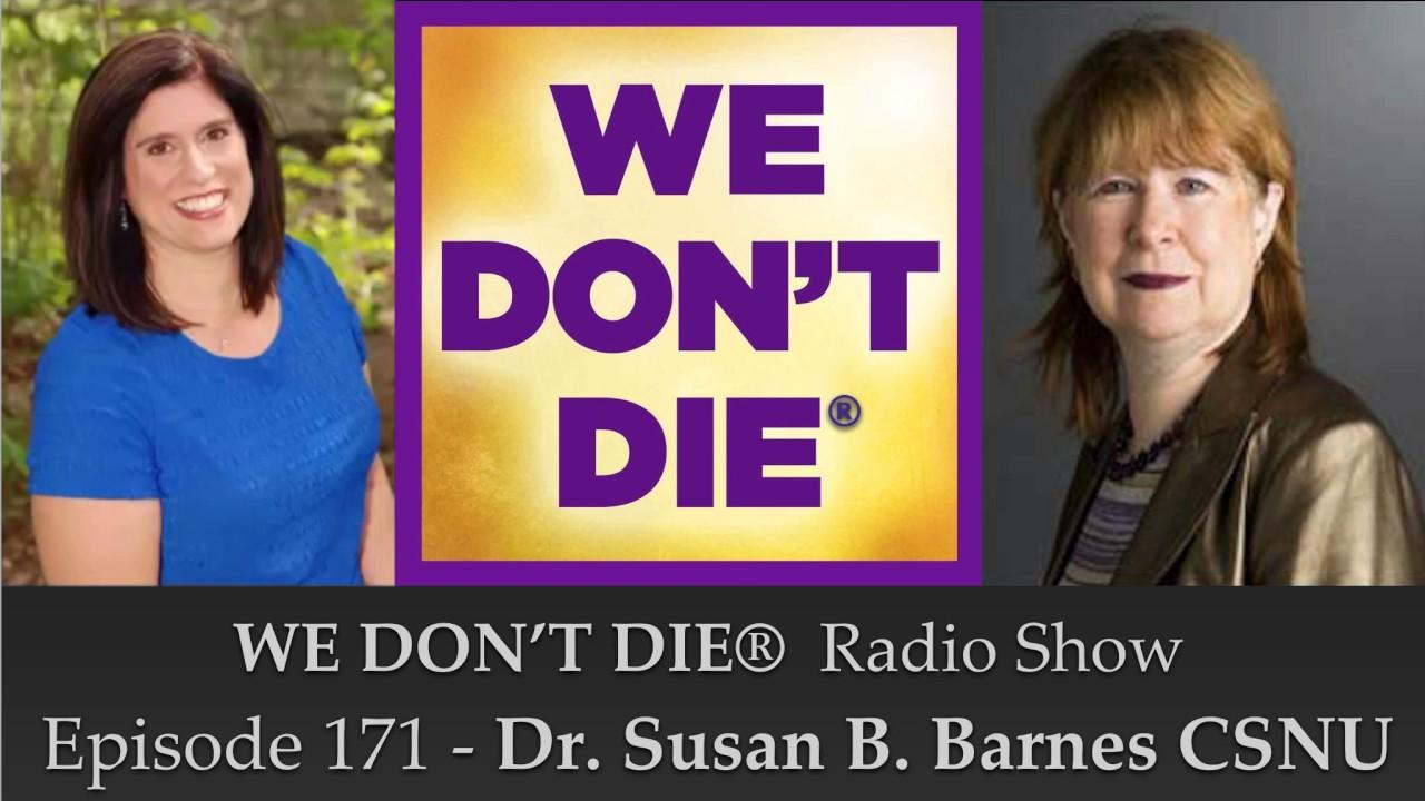 Episode 171 Dr Susan B Barnes Csnu On Snui Org Physical