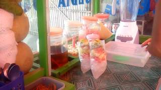 INDRAMAYU STREET FOOD Es Sop Buah Khas Pedagang Jembatan Cilendot