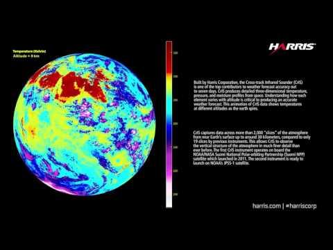 Harris Corporation - CrIS Temperature Animation