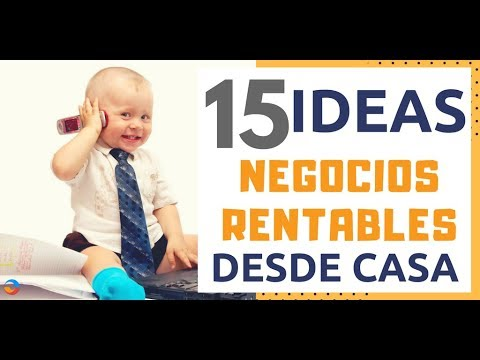 15 ideas de negocios rentables con m nima inversi n para - Negocios rentables desde casa ...
