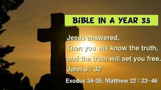 성경일년일독 35 (NIV, 개역개정): 출애굽기 34…