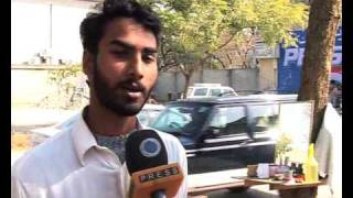 Street Barbers Pose Serious Health Risks In Pakistan 2010-Addiel Sabir.flv