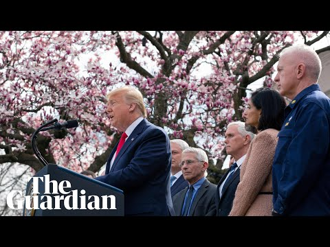 Coronavirus national emergency in US: Trump holds press conference – watch in full