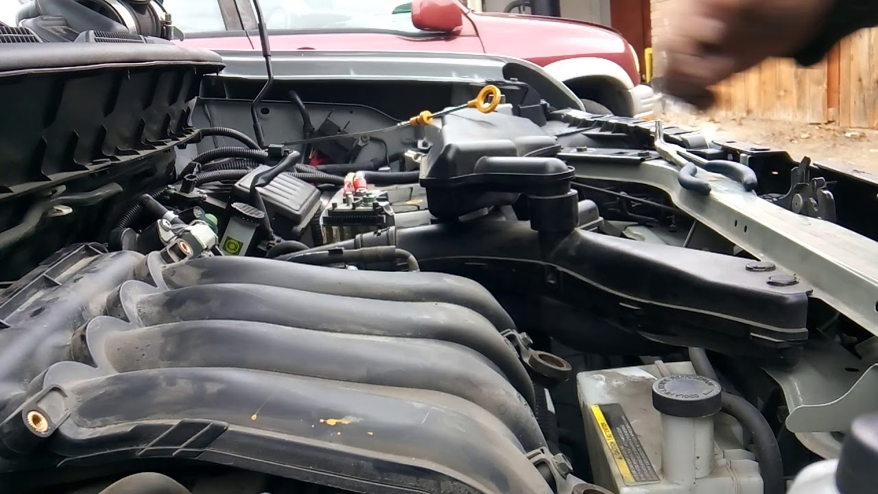 2011 Nissan cube krom intake removal for tune up