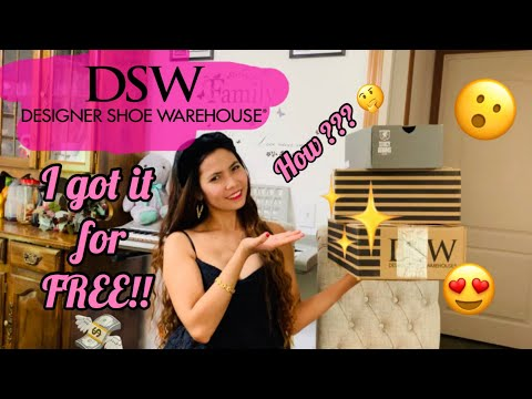 Designer Shoe Warehouse ( DSW ) Unboxing + Review