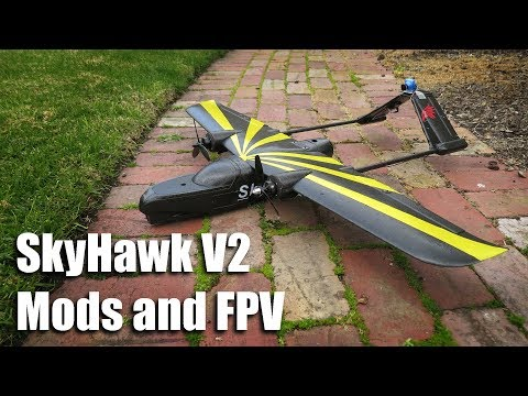 Sky Hawk V2 Mods and FPV - YouTube