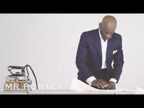 How To Iron A Shirt | MR PORTER