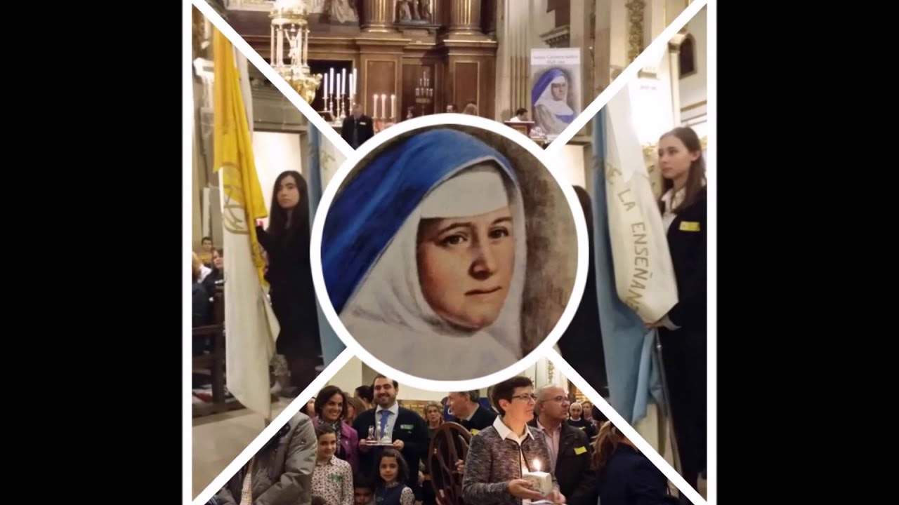 Tercer aniversario de la canonizaci n de santa carmen sall s youtube - Concepcionistas escorial ...