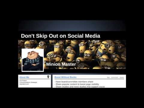 KHf Webinar: Don't Skip Out on Social Media