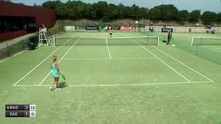 Radwanska Urszula v Saez Larra Olga - 2018 ITF Obidos