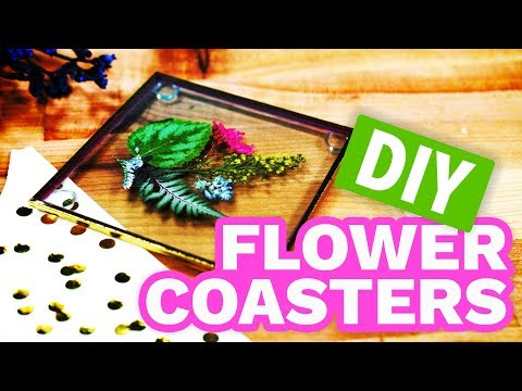 Dollar Store Flower Coasters - HGTV Handmade