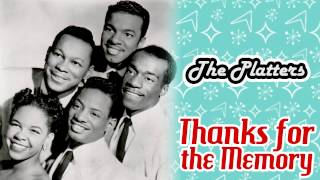 The Platters - Thanks for the Memory
