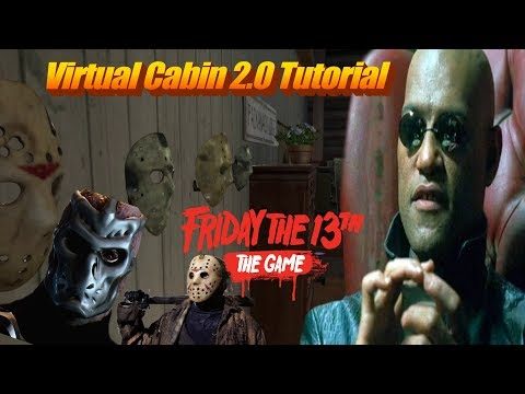 HOW TO COMPLETE THE VIRTUAL CABIN | FRIDAY THE 13TH GAME (4K 60FPS)