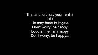 Bobby McFerrin - Dont Worry Be Happy [LYRICS]