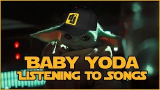 Baby Yoda Listening to Songs #1
