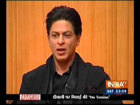 Shahrukh khan says Vivek vaswani  director ( Sindhi ) made is carrier