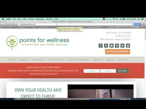 A Powerful SEO Tip for Your Holistic/Alternative Health Website