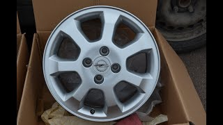 Восстановление, покраска дисков своими руками в гараже