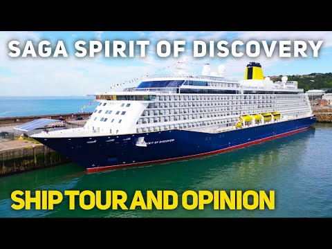 Saga Spirit Of Discovery Cruise Ship Tour & First Impressions