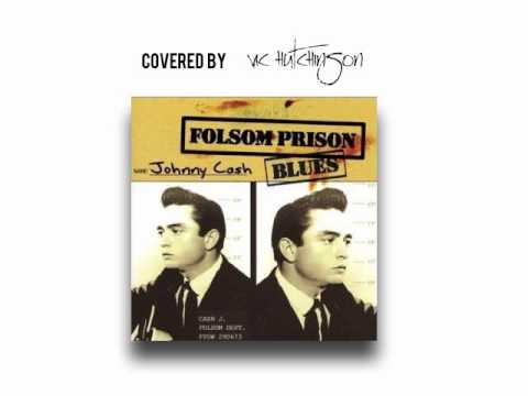 Karaoke Johnny Cash Folsom Prison covered by Vic Hutchinson