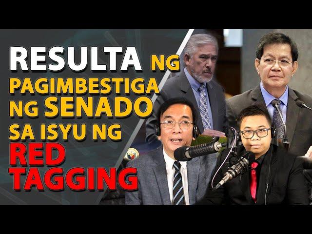 Itanong Mo Kay Pañero: Makabayan bloc, sunog sa Senate committee report hinggil sa red-tagging