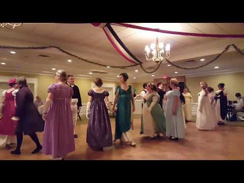 Regency Society of VA Trafalgar Day Victory Ball 2017
