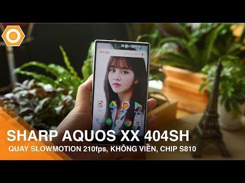 Sharp Aquos Xx 404SH - Quay slowmotion 2100fps, Không viền, Chip S810