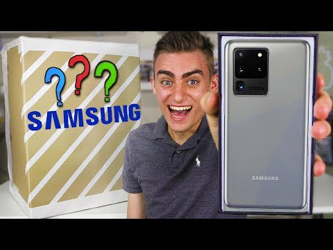 UNBOXING $25,000 SAMSUNG MYSTERY BOX (LEGIT GOT SAMSUNG GALAXY S20 ULTRA!?) 😱