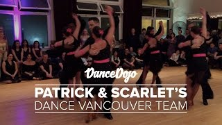 Patrick & Scarlet's Dance Vancouver Salsa Team | Dancey Ballroom 4th Anniversary
