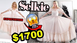 I SPENT $1700 ON SELKIE!! Trying the VIRAL Selkie Puff Sleeve Dresses - Are They Worth It???