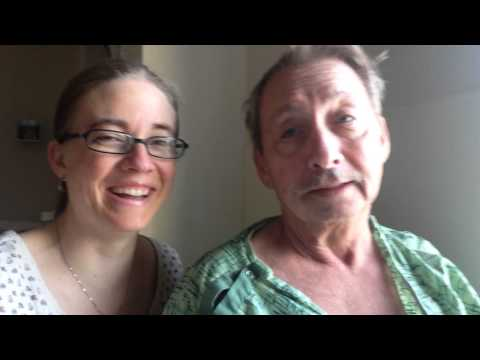 Global Aphasia after Dad's stroke