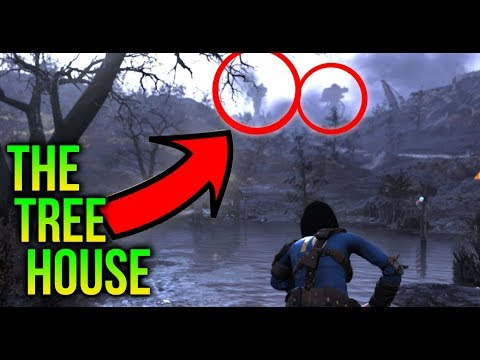 Fallout 76 - The Tree Houses of the Ash heap! thumbnail