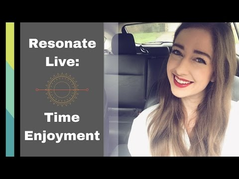 Resonate Live with Brianna Gaither: Time Enjoyment