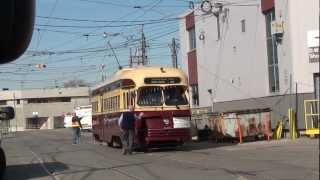 TTC Historic Streetcars PCC and Peter Witt