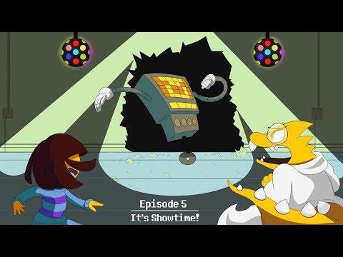 Undertale Cinematic Dub: Ep. 5- It's Showtime!