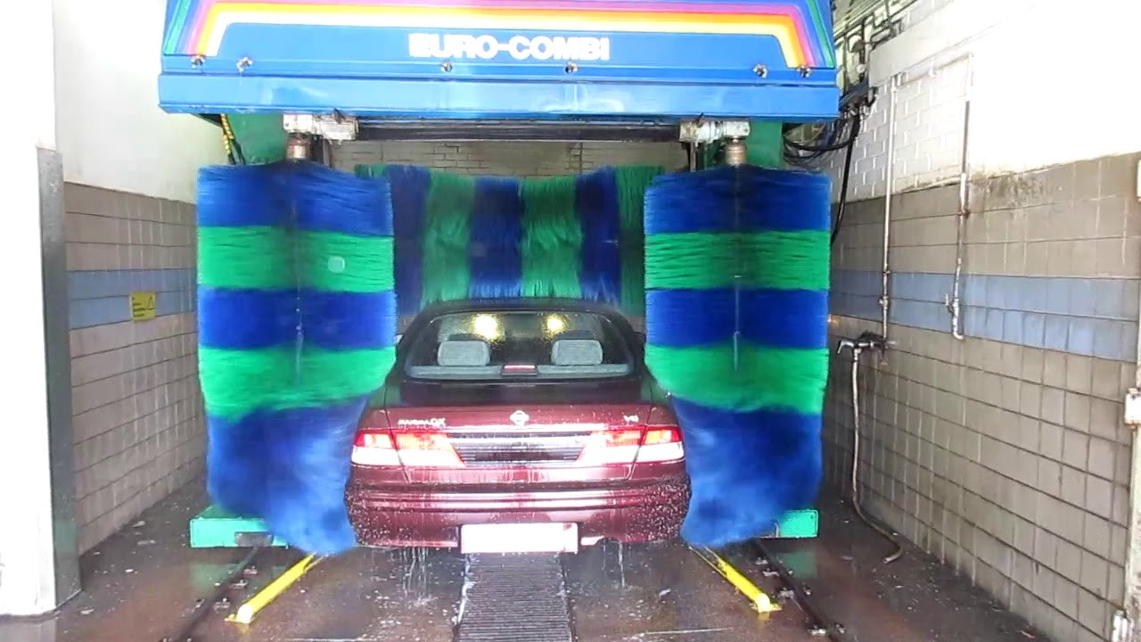 Find A Carwash >> Kleindienst Euro Combi Car Wash STILL ALIVE (outside view) - YouTube