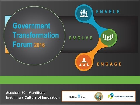 GT2016 Session 20: How to instill a Culture of Innovation and Collaboration