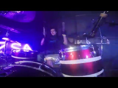 Nothing Personal Live @ Zsa Zsa - Drum Cam (19-03-2016)