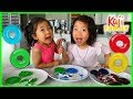 How to make DIY JELLO Donut with Emma and Kate!!!