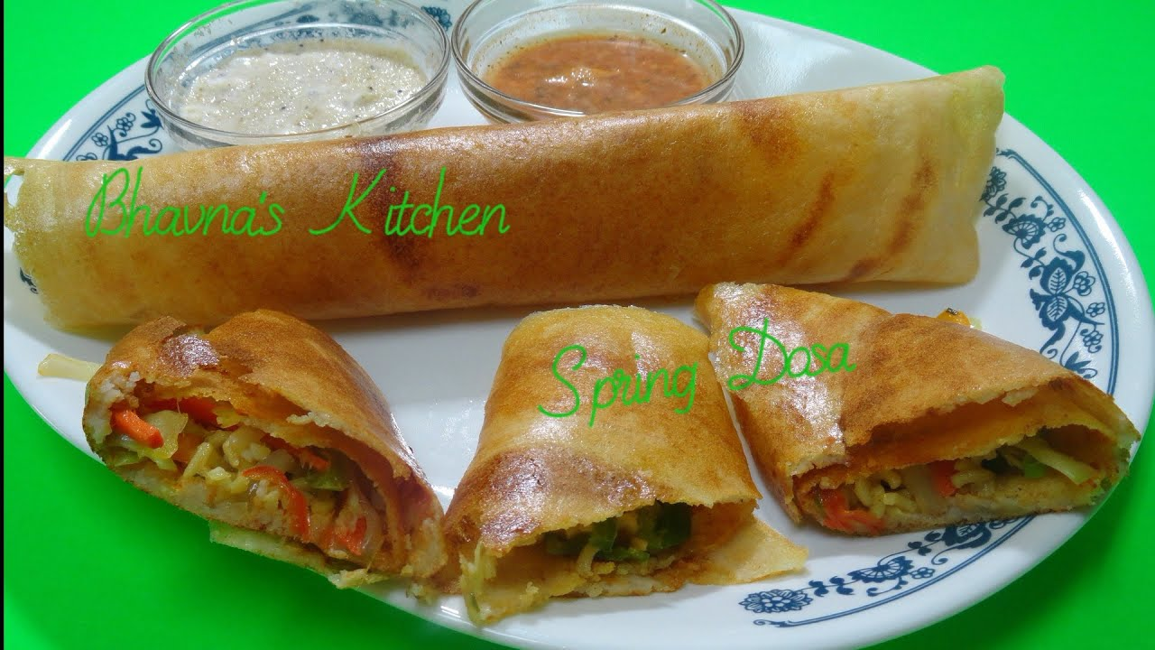 How to prepare spring dosa recipe video by bhavna gluten free how to prepare spring dosa recipe video by bhavna gluten free vegan youtube forumfinder Gallery